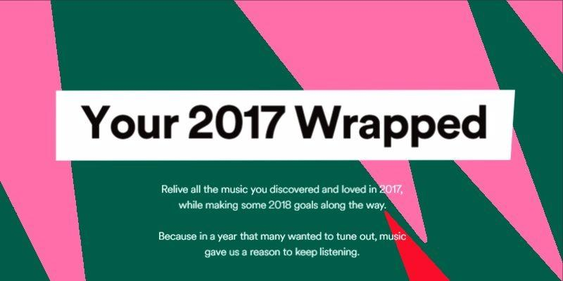 Bilderesultat for spotify 2017 wrap