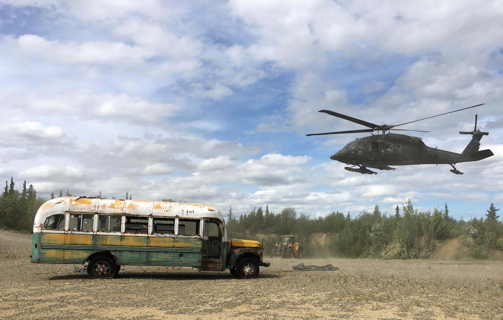 Into The Wild Bus Removed From Alaska Trail For Safety
