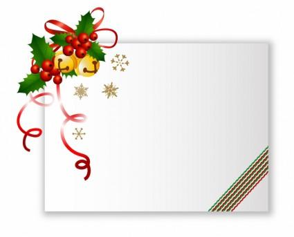 Kartu Natal Vektor Natal Vektor Gratis Download Gratis
