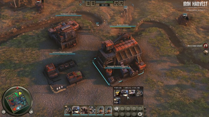 Iron Harvest Deluxe Edition screenshot 2