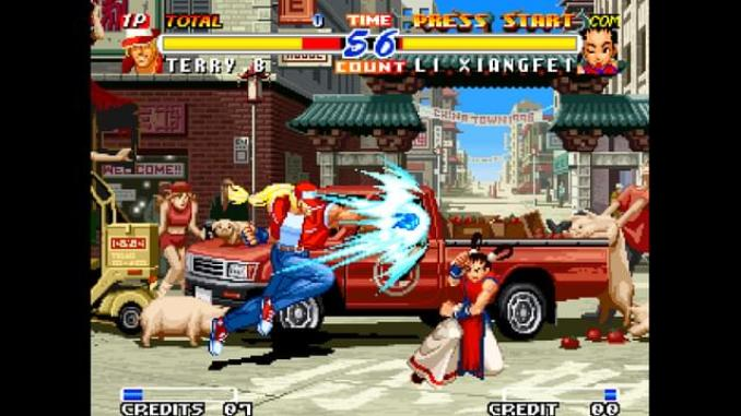 Real Bout Fatal Fury 2: The Newcomers screenshot 3