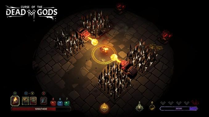 Curse of the Dead Gods screenshot 1