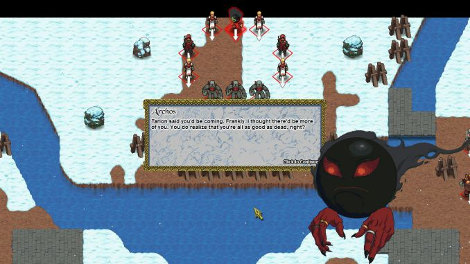 Telepath Tactics screenshot 1