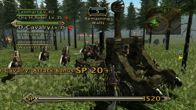 Kingdom Under Fire: Heroes screenshot 2
