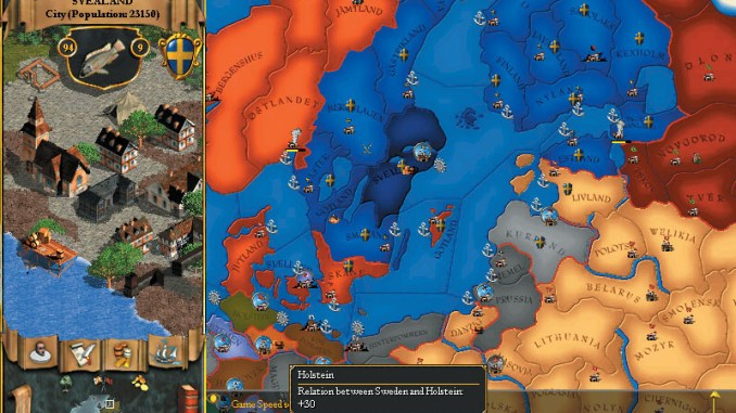 Europa Universalis II screenshot 3