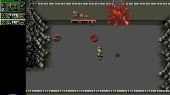 Cannon Fodder screenshot 1