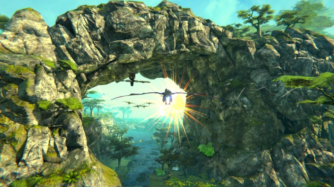 Panzer Dragoon: Remake screenshot 2