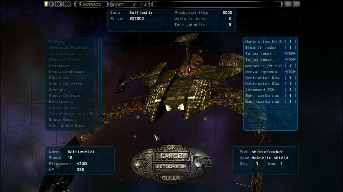 Imperium Galactica II: Alliances screenshot 3