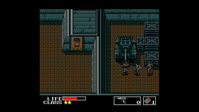 Metal Gear screenshot 1