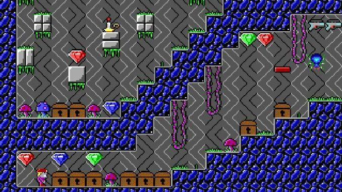Crystal Caves screenshot 2