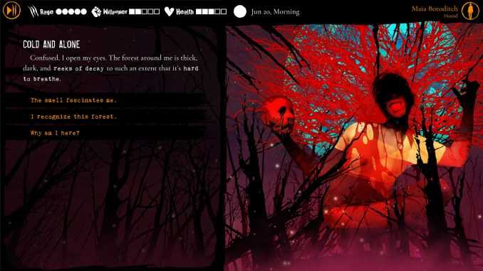 Werewolf: The Apocalypse - Heart of the Forest screenshot 1