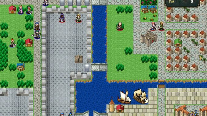 Vestaria Saga I: War of the Scions screenshot 1