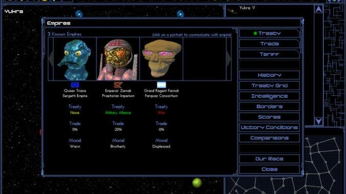 Space Empires IV Deluxe screenshot 1