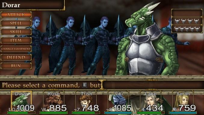 Elminage Gothic screenshot 3