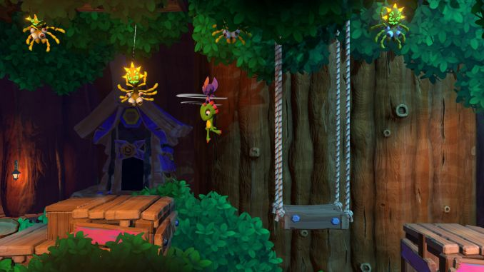 Yooka-Laylee and the Impossible Lair screenshot 2