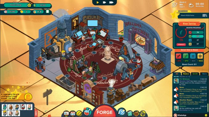 Holy Potatoes! A Weapon Shop?! screenshot 3