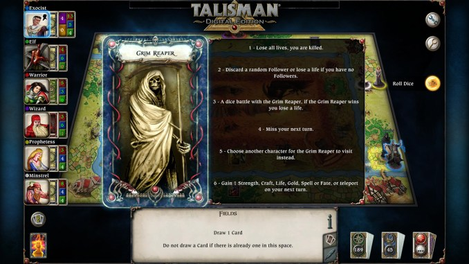 Talisman: Digital Edition screenshot 2