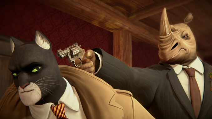 Blacksad: Under the Skin screenshot 2