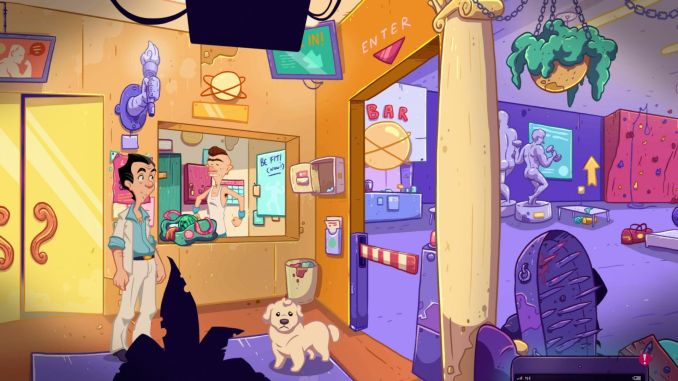 Leisure Suit Larry - Wet Dreams Don't Dry screenshot 3