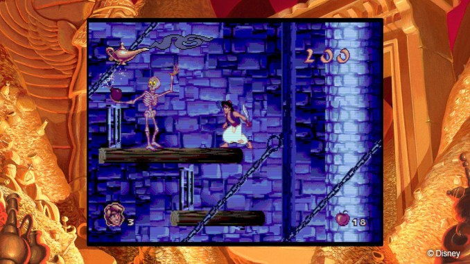 Disney Classic Games: Aladdin and The Lion King screenshot 2