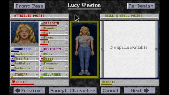 The Legacy: Realm of Terror screenshot 2