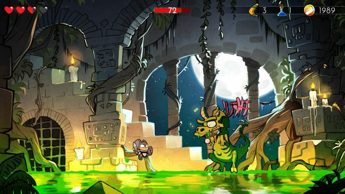 Wonder Boy: The Dragon's Trap screenshot 1