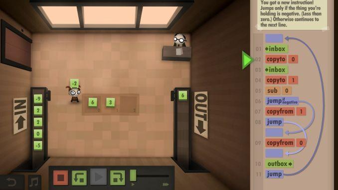 Human Resource Machine screenshot 3