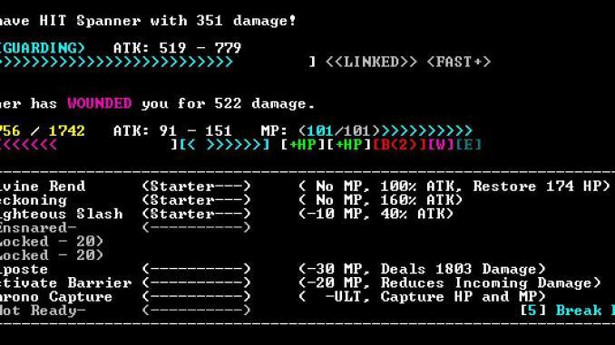 Sanctuary RPG: Black Edition screenshot 1
