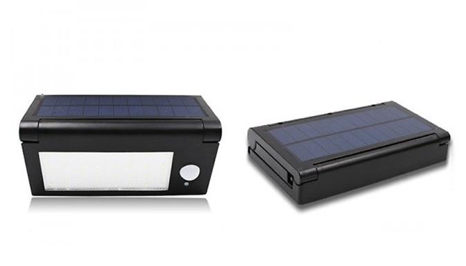 Solar-Powered Motion-Sensor Light