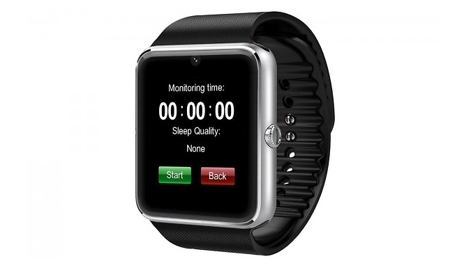 Multi-Functional Bluetooth Smartwatch With 1.3MP Camera