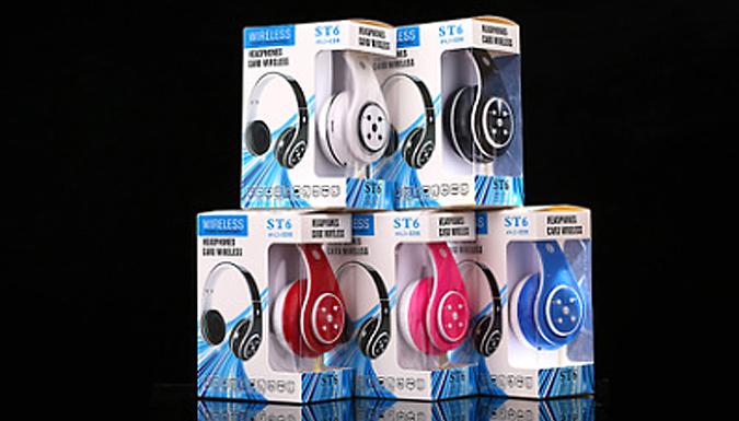 Foldable Wireless Headphones - 5 Colours