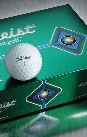 Titleist 全新 AVX 高爾夫球上市 全新技術帶來更強性能
