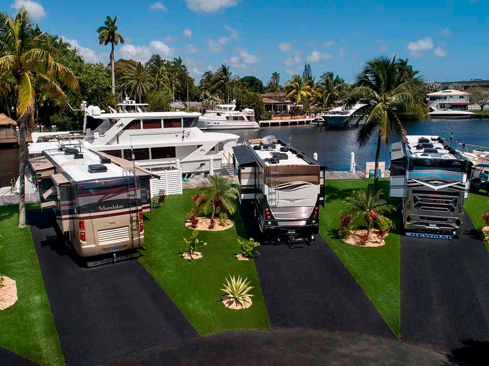 Yacht Haven Park Marina Fort Lauderdale Campgrounds