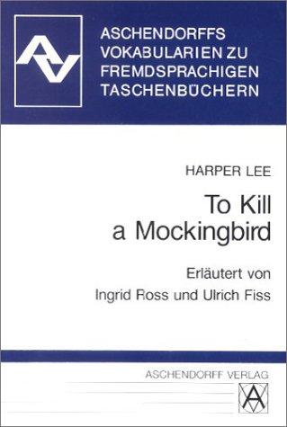 To Kill a Mockingbird. Vokabularien.