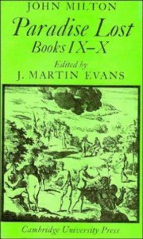 Paradise Lost: Books 9-10