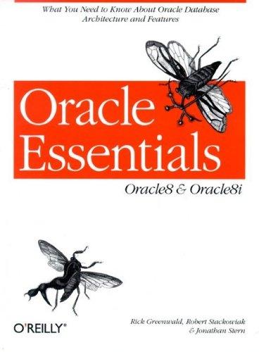 Oracle Essentials: Oracle8 & Oracle8i
