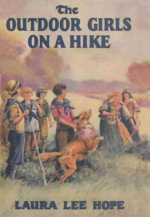 The Outdoor Girls on a Hike; or, The Mystery of the Deserted Airplane