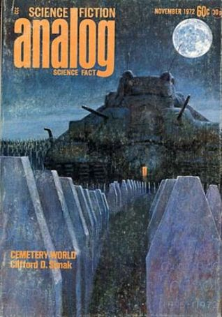 Analog Science Fiction and Fact, November 1972