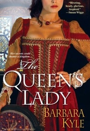 #Printcess review of The Queen's Lady by Barbara Kyle