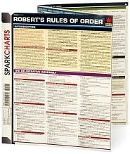 Robert's Rules of Order SparkCharts