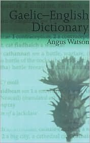 Gaelic-English Dictionary