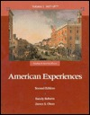American Experiences: Readings in American History