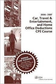 Car, Travel & Entertainment and Home Office Deductions CPE Course
