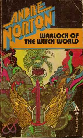 Image result for Warlock of the Witch World by Andre Norton