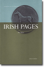 Irish Pages: A Journal of Contemporary Writing 2007: Media v. 4, No. 1: Autumn and Winter