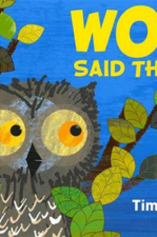 Wow! Said the Owl Book Pdf ePub