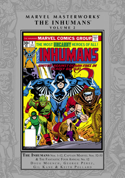 Marvel Masterworks: The Inhumans, Vol. 2