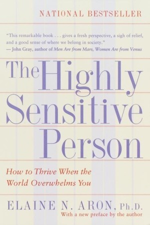 Image result for highly sensitive person book