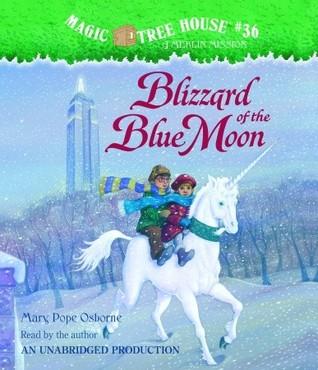 Blizzard of the Blue Moon (Magic Tree House, #36)