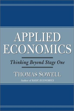 Image result for applied economics thomas sowell